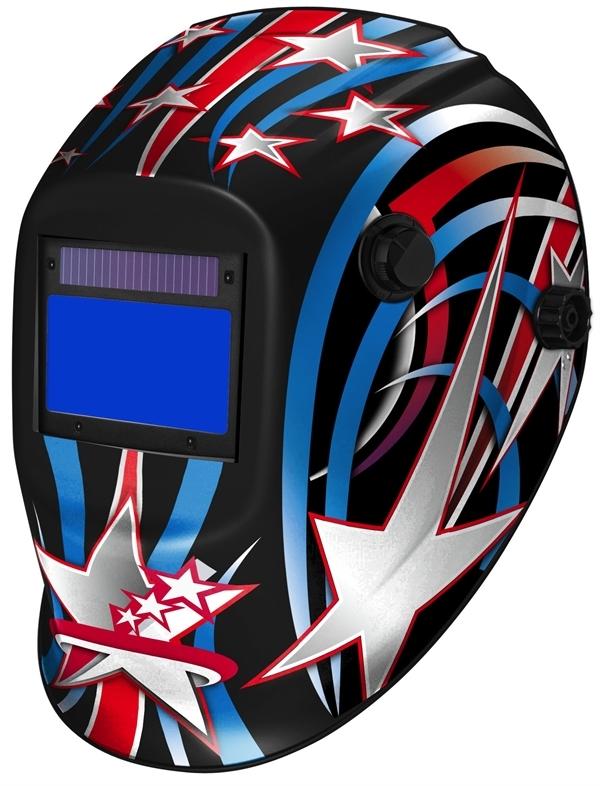 Maschera ClearWelding TM17 Captain America 615