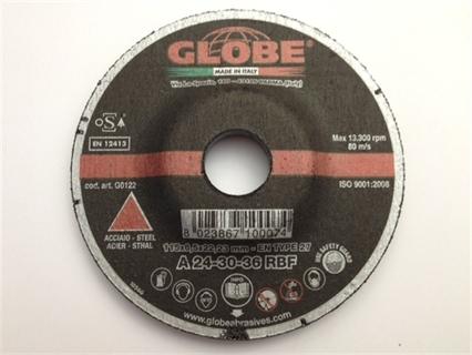 Immagine di Disco abrasivo Globe 125 x 6,5 R