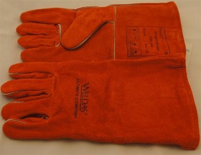 Immagine di Guanti Weldas Mig lunghi arancioni