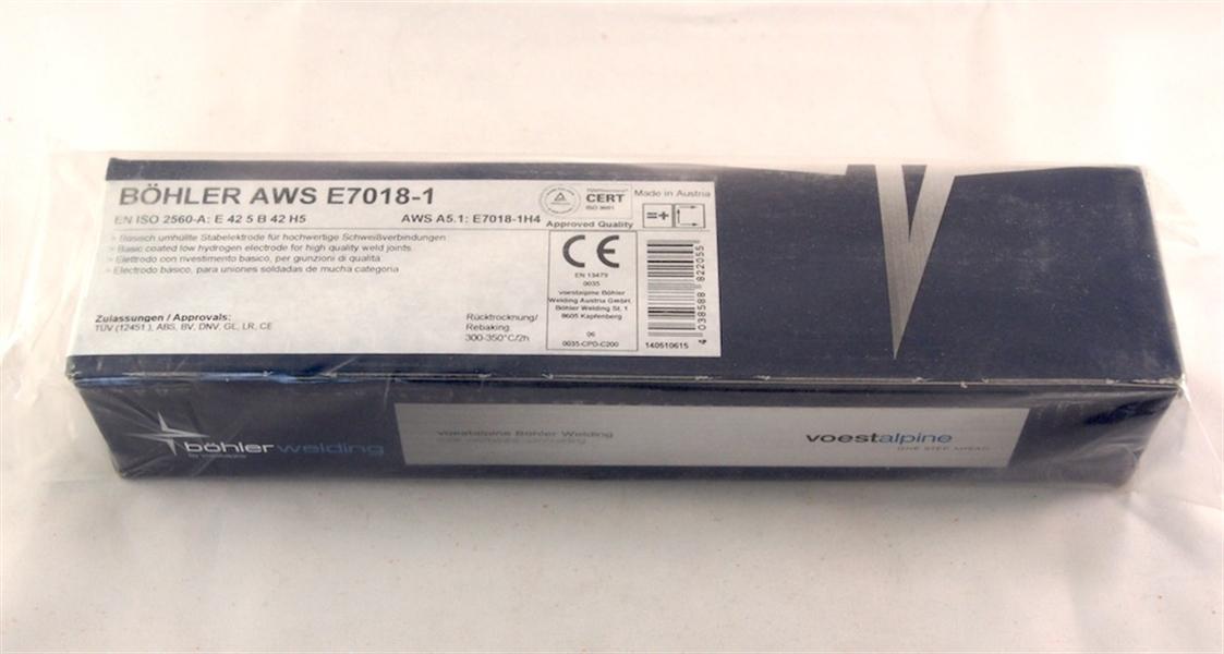 Bohler AWS E 7018-1 ø 2,5x300