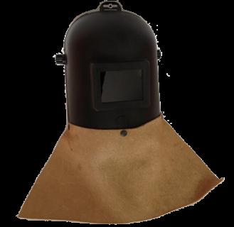 Immagine di Maschera a casco con grembiulino in crosta
