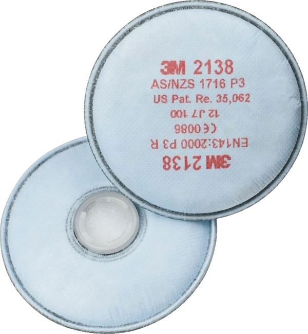 3M™ 2138 Filtri per polveri