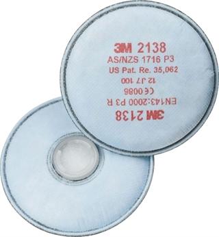 Immagine di 3M™ 2138 Filtri per polveri