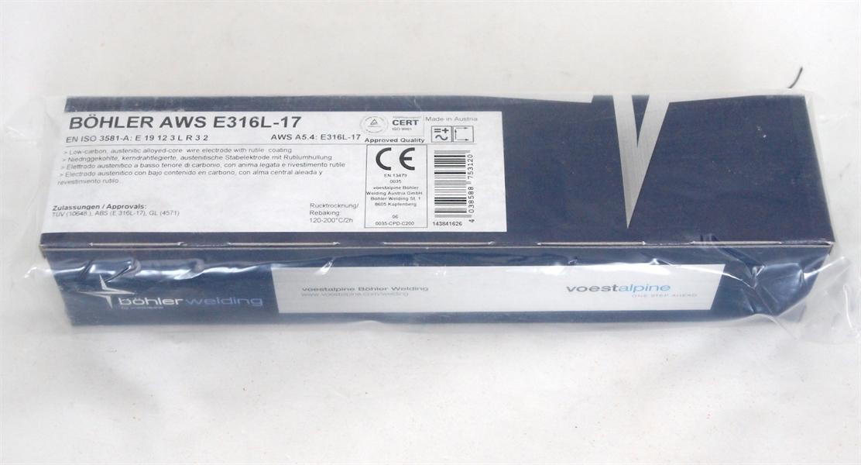Bohler AWS E 316L-17 ø 2,5x300