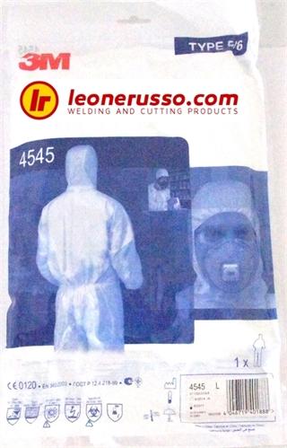 Immagine di Indumenti di protezione 3M 4545 XL