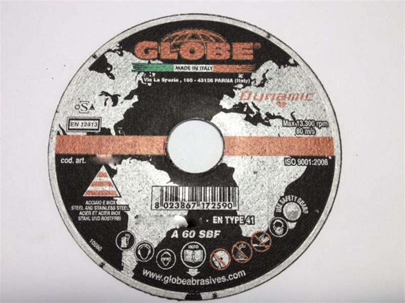 Dischi da taglio Globe 230 x 2,0 Dynamic