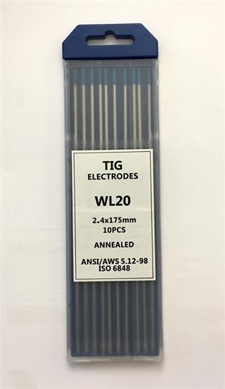 Immagine di Elettrodi Tungsteni EWP BLU ø2,4
