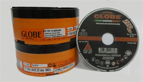 Immagine di Globe 115 x 1,0 Inox Zip