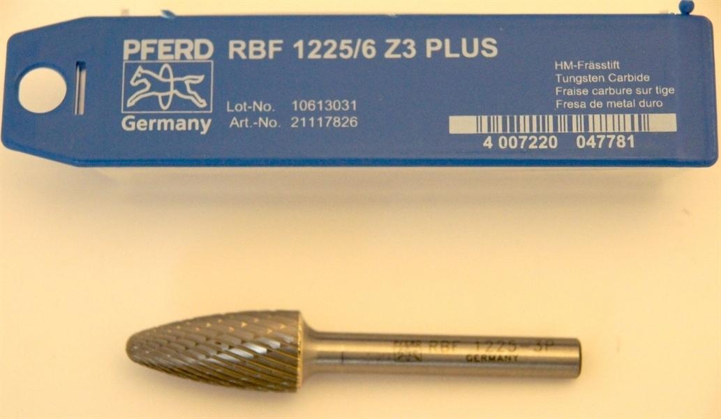 Fresa Pferd RBF 1225/6 Steel