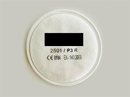 Immagine di Filtri per polveri per semimaschera P3 R