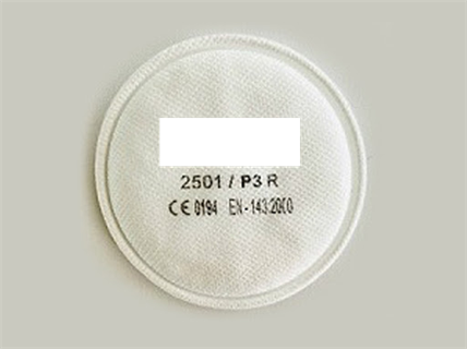 Immagine di Filtri per polveri per semimaschera Tipo 3M P3 R