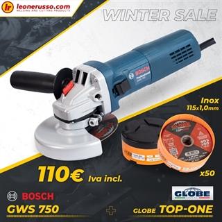 Immagine di Winter Promo Smerigliatrice Bosch + 50 Dischi globe